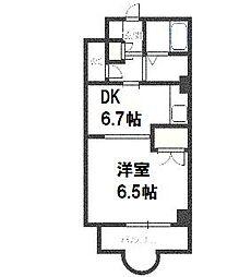 北海道札幌市豊平区豊平三条12丁目の賃貸マンションの間取り