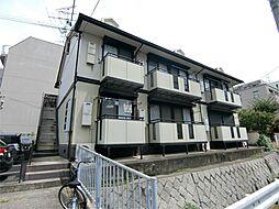 兵庫県神戸市東灘区御影中町6丁目の賃貸アパートの外観