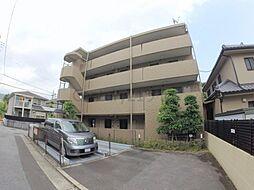 兵庫県宝塚市川面1丁目の賃貸マンションの外観