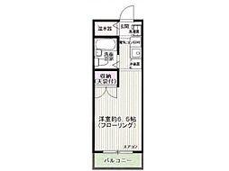 ヒルサイドメゾン高幡[1階]の間取り