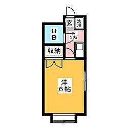 片岡ビル[4階]の間取り