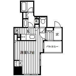 アルス横浜ベイアドレス[10階]の間取り