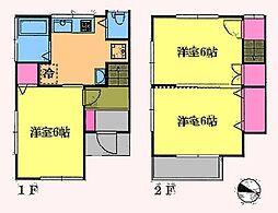 都営新宿線 瑞江駅 徒歩12分 3DKの間取り