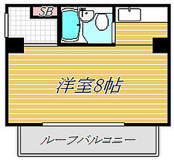 東京都台東区小島1丁目の賃貸マンションの間取り