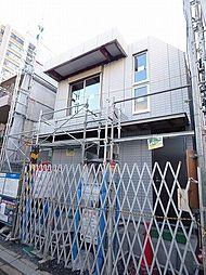 東京都品川区中延2丁目の賃貸マンションの外観
