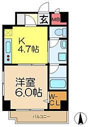 K・Iサウスガーデン[7階]の間取り