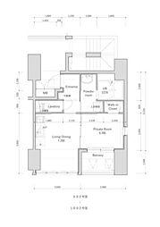 高砂新築マンション(管理物件)[1002号室]の間取り