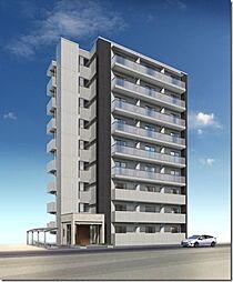 駅前町新築マンション[1階]の外観