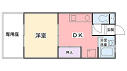 桜ハイツ2[107号室]の間取り