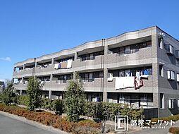 愛知県みよし市三好町中島の賃貸マンションの外観