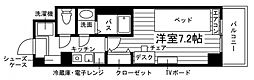 学生会館 Aile(エール)草薙駅前[食事付き] 5階1Kの間取り