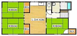 [一戸建] 福岡県太宰府市大佐野1丁目 の賃貸【/】の間取り