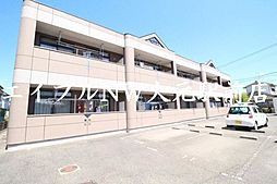 岡山県岡山市北区西辛川の賃貸マンションの外観