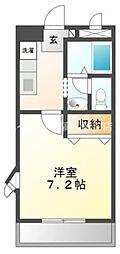 クレインコート[2階]の間取り