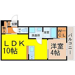 FAMILY STAGE黒川(ファミリーステージ黒川)[1階]の間取り