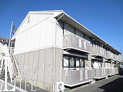 埼玉県さいたま市南区内谷6丁目の賃貸アパートの外観