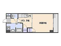 エステート36[3階]の間取り