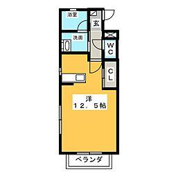 i・MOA[3階]の間取り
