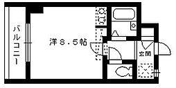 ST藤崎ビル[503号室]の間取り