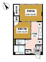 神奈川県横浜市中区福富町東通の賃貸マンションの間取り