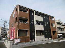 東京都八王子市四谷町の賃貸アパートの外観