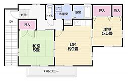 森崎アパート[2号室]の間取り