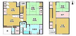 JR山陰本線 梅小路京都西駅 徒歩6分 5SDKの間取り