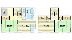 [一戸建] 兵庫県姫路市辻井2丁目 の賃貸【兵庫県 / 姫路市】の間取り