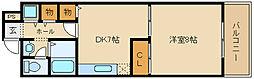 ニドムコート[2階]の間取り