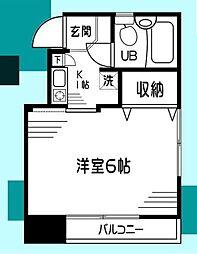 カインドハウス杉田[203号室]の間取り