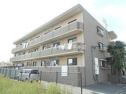 岡山県岡山市南区平福2の賃貸マンションの外観