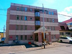北海道札幌市北区北三十三条西6丁目の賃貸マンションの外観