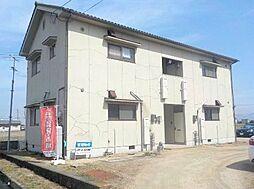 岡山県岡山市南区内尾の賃貸アパートの外観