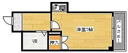 セクション22[303号室]の間取り