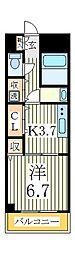 テイク 5[5階]の間取り