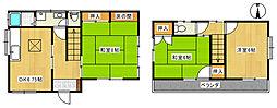 [一戸建] 埼玉県狭山市下奥富 の賃貸【/】の間取り