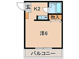 シュプールI[1階]の間取り