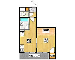 K・FLAT[1階]の間取り