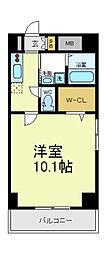 SUN COMODE[5階]の間取り