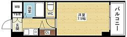 ロイヤルハイツ西淡路part1[1階]の間取り