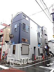 東京都大田区南六郷2丁目の賃貸アパートの外観