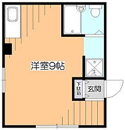東京都小平市花小金井7丁目の賃貸マンションの間取り