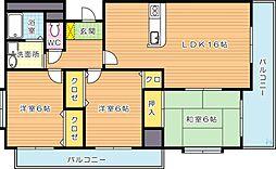 Etrange(エトランジェ)[8階]の間取り