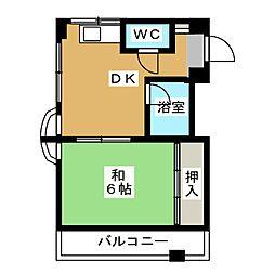 さかえビル[4階]の間取り