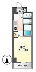 リビエ亀島[4階]の間取り