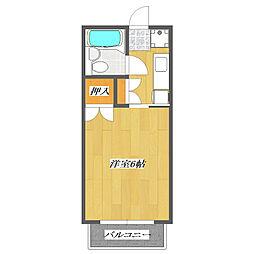 プルミエI[105号室]の間取り