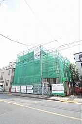 東京都大田区東雪谷5丁目の賃貸アパートの外観
