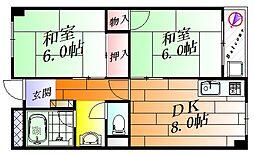 メゾン碧荘[2階]の間取り