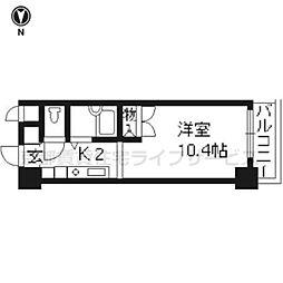 みつまめ京都[418号室]の間取り