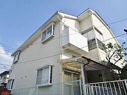 山梨県笛吹市石和町松本の賃貸アパートの外観